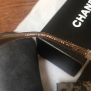 CHANEL Accessories - New in the Box Chanel Singlasses with Rhinestones